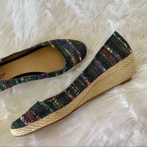 CUTE! • LUCKY BRAND 🍀 COLORFUL ESPADRILLE SHOES